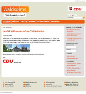 Website CDU Waldsolms 2015